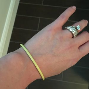 J. Crew skinny yellow bangle